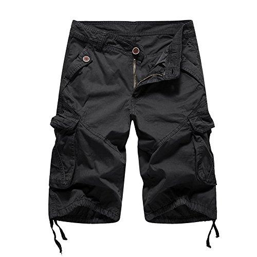 Jeans Shorts Herren Bermuda Shorts Linen Trousers Men Caprihosen Sommer Stretch Kurze Hose Jeans Hosen Kurze Hose Sweatpants Kurz