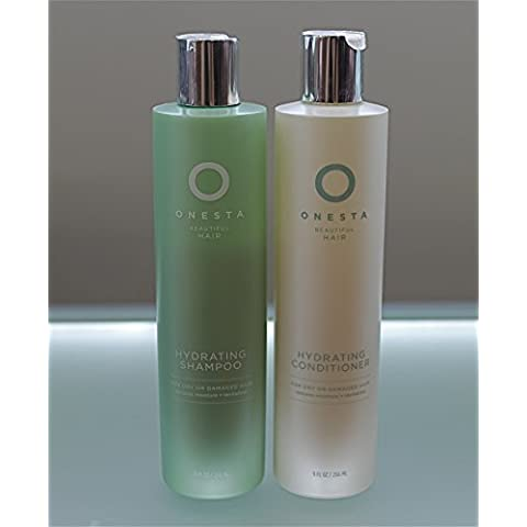 Onesta Hydrating Shampoo & Conditioner Duo for Dry or Damaged Hair - 9 Oz Each By Onesta by Onesta