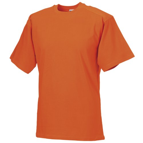 Russell Europe Herren T-Shirt / Arbeits-T-Shirt Orange