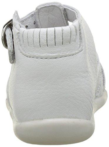 Babybotte Guppy5, Sandales Bébé Garçon Blanc (Blanc)