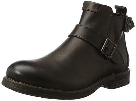 REPLAY Herren Hert Biker Boots, Braun (Dk Brn), 43 EU