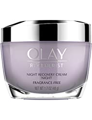 Olay Regenerist Night Recovery Cream Advanced Anti-Aging Night Fragrance-Free 50ml 1.7 Ounce