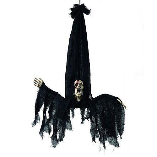 Halloween Figur Psycho, animiert (Halloween Animierte Figuren)