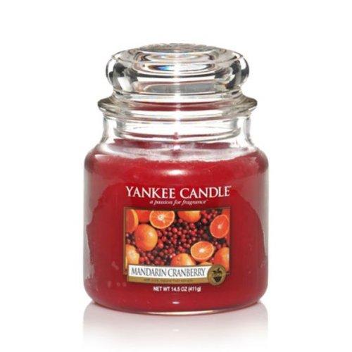 Mandarin Cranberry Yankee Candle (Yankee Candle Duftkerze Housewarmer Mandarin Cranberry (411g))