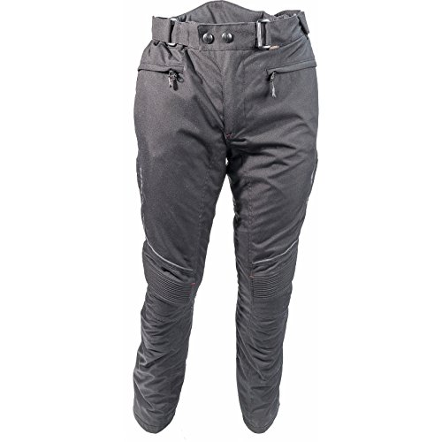 Richa Colorado Ladies Motorcycle Trousers S Black Short (Shorts Bk Womens)