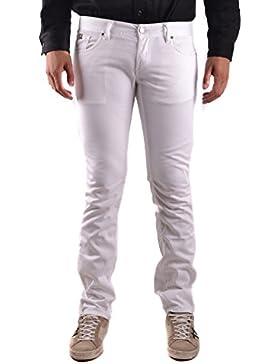 Richmond Hombre MCBI256139O Blanco Algodon Jeans