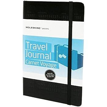 MoleskinePHTR3A Passion-Journal Reise Large, Hardcover mit Prägung schwarz