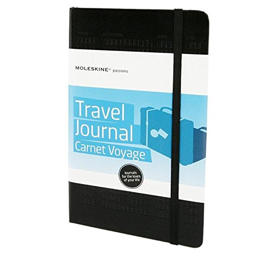 Moleskine Taccuino Viaggio Passion Travel Journal, Nero