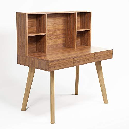 Laptopständer DD Computertisch, Desktop Schreibtisch Aus Massivem Holz/Bücherregal - Home...