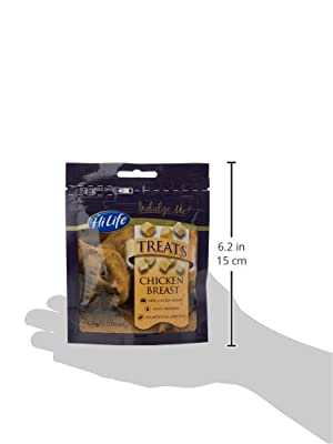 HiLife Indulge Me Cat Treats 100 Percent Chicken Breast, Pack of 12