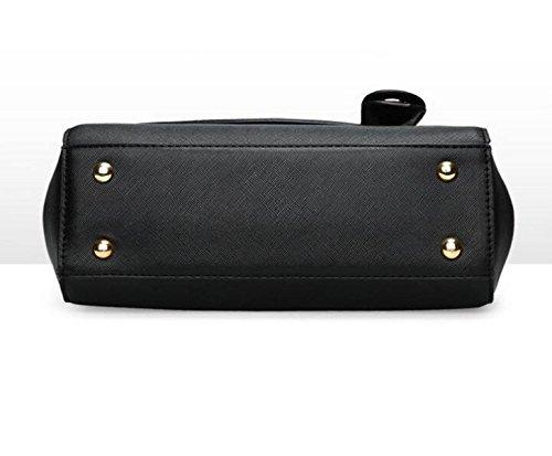 Art Und Weisehandtaschen Schulterbeutelhandtaschenkettenpaket Kleines Quadratisches Paket Einfache Freizeit Wild Black