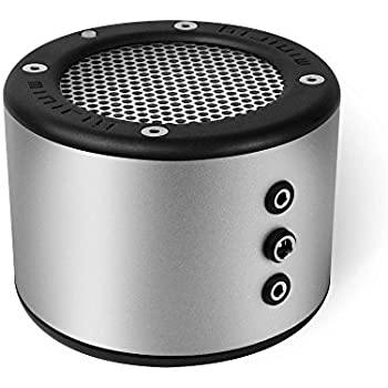 MINIRIG Portable Rechargeable Bluetooth Speaker SILVER