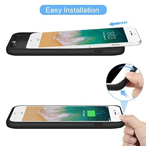 rivenditore all'ingrosso 0aff3 b877f Feob Cover Batteria per iPhone 8/6S/6/7, 6000mAh Custodia ...