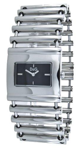 D&G Dolce&Gabbana 3719251545 - Reloj analógico de cuarzo para mujer, correa de acero inoxidable color plateado