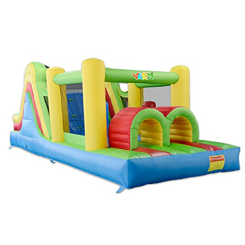 YARD Kids Bouncy Castle Inflatable Bouncer Bounce House and Slide Inflatable Jumper with Airflow Fan