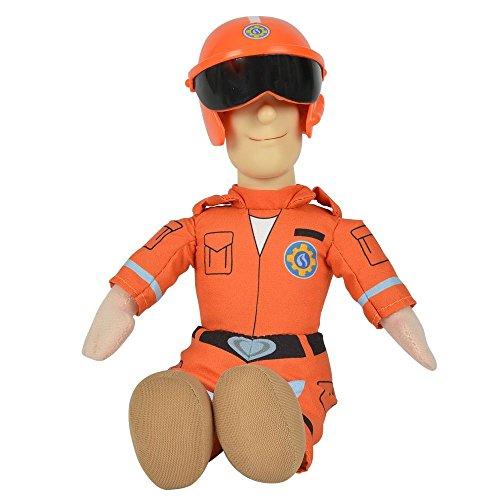 feuerwehrmann sam tom thomas Feuerwehrmann Sam - Auswahl Beanie Puppe Plüsch Figur 25cm, Typ:Tom