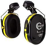 Coquilles anti-bruit à monter sur casque InterGP AEK010-005-300 par JSP, jaunes/noires