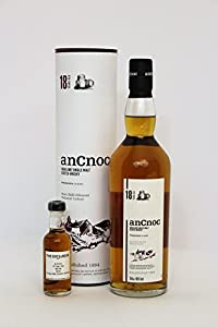 An Cnoc - 18 Year Old - 46.0% - *50ml Sample* from An Cnoc