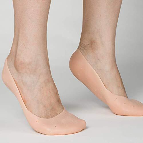Jinxuny Silikon-Socken für die Pflege des Fußes in der Figura Intera Prevenire die Metatarso Calli Calli Bunions and Blister 4-Skin L -