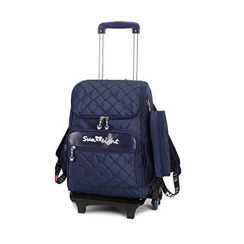 Imagen de highdas  con carros  grande con ruedas senderismo escuela de moda unisex  escolares  bolsa trolley mano viaje del equipaje