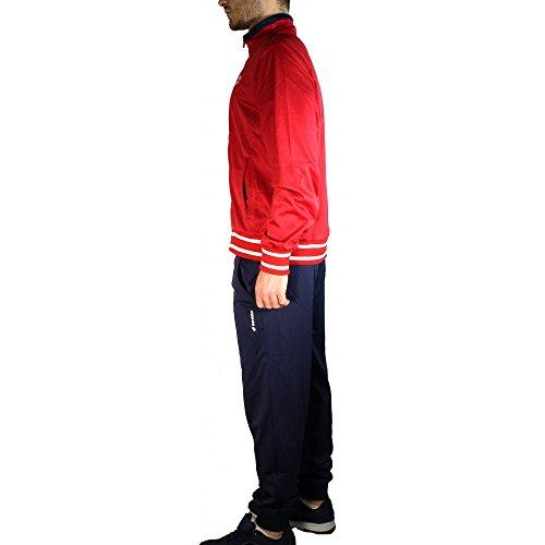 Lotto Mason Iii Suit Bs Pl Tuta Rosso/Blu (Rubin/Nvy)
