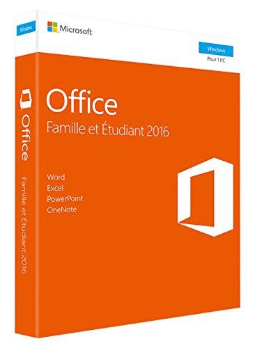 Office Famille et Etudiant 2016 - 1 PC