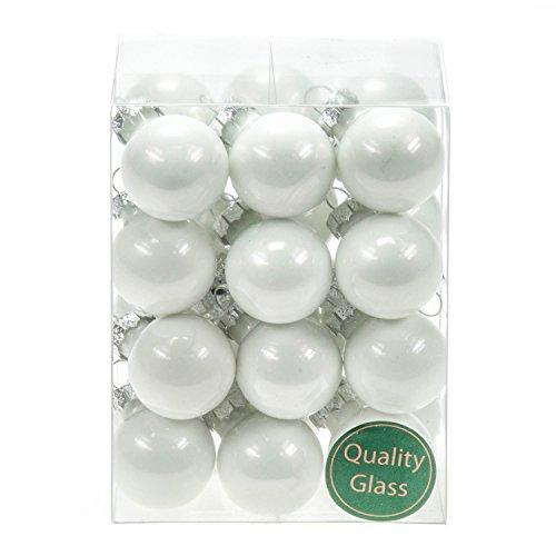 24palle di natale in vetro pz palline bianco opal colori decorazione sfere palline di vetro decorazione chirst decorazioni natalizie matt lucido decorazione sfere