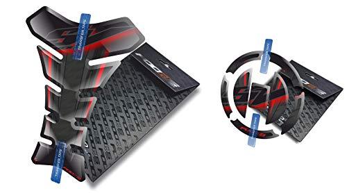 Tankpad et Cappad pour Suzuki SV 650 1000 (Noir)