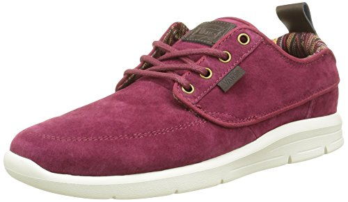 Vans Brigata Lite + , Baskets Basses Mixte Adulte, Rouge (Suede), 41 EU