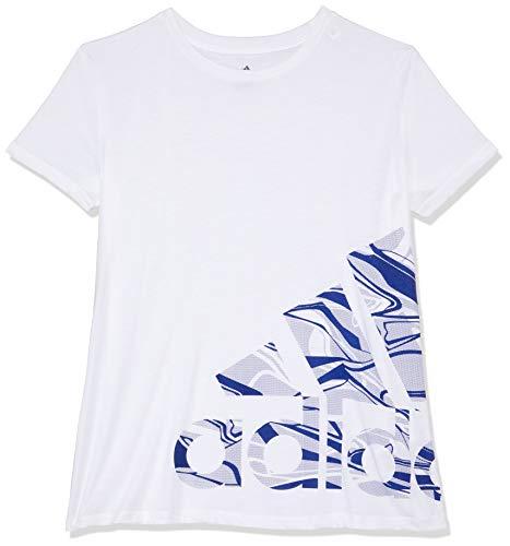 brand new 6c180 9e3c4 adidas Logo Camiseta, Mujer, Blanco, Large