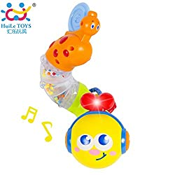 Transformable & Musical twisting worm and teether from Flying Toyszer