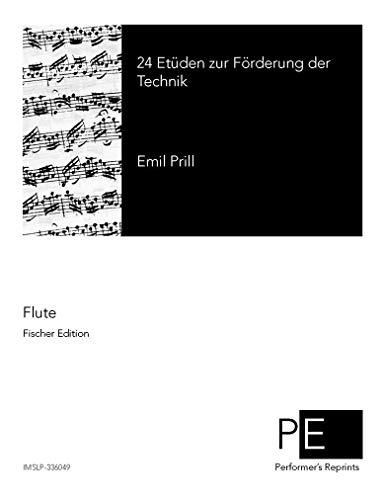 24 Etüden zur Förderung der Technik, Op. 12 por Emil Prill