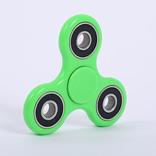 GrassVillage Fidget Hand Spinner Stress Reducer High Speed Ceramic Bearing Fidget Toy For ADD / ADHD / Anxiety and Autism Adult Children (Green) - 3