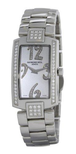 Raymond Weil Watches Shine 1800-ST2-05383 - Reloj analógico de cuarzo para mujer, correa de acero inoxidable multicolor