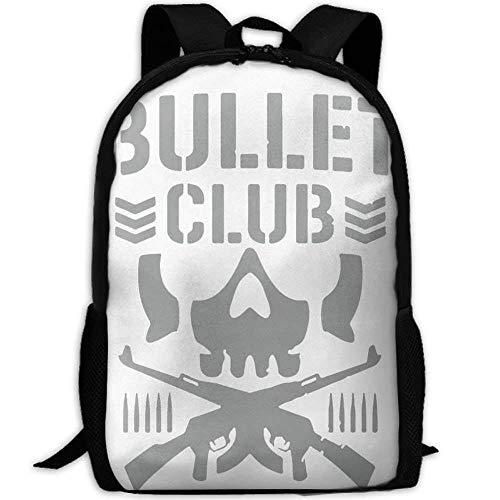 HOJJP Schultasche Bullet Club School Rucksack College Bookbag Unisex Travel Backpack Laptop Bag -