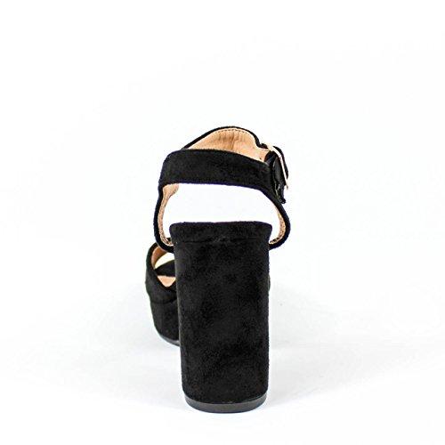Buonarotti , Sandales pour femme Noir