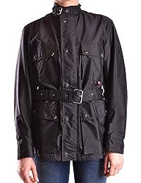 Belstaff Mujer MCBI039023O Negro Poliuretano Trench Coat