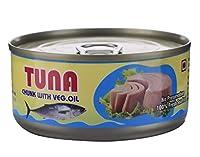 Sea Wonder Tuna Chunks with Veg. Oil - 160 GMS (Pack of 1)