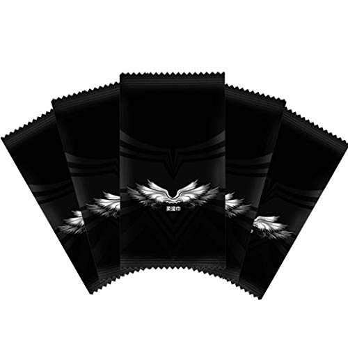 KunmniZ 1 Stück Vliesstoff Feuchttücher Tissue Handtuch Reise Portable Internet Bar Einwegtastatur Desinfektionsmittel Flügel