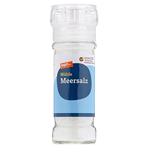 Tegut Gewürzmühle Meersalz, 110 g