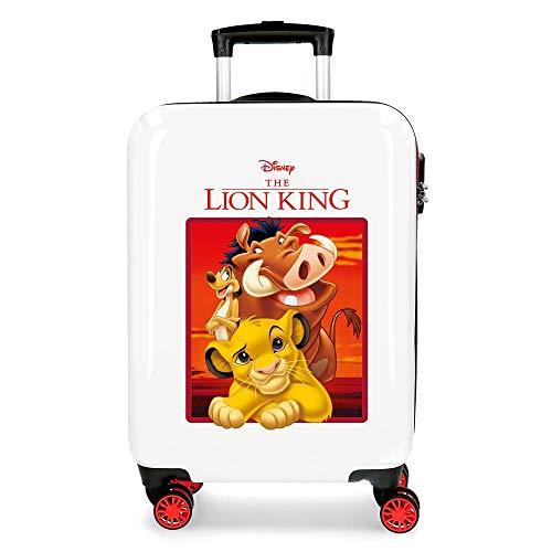 Disney The Lion King Valigia per bambini 55 centimeters 37 Rosso (Rojo)
