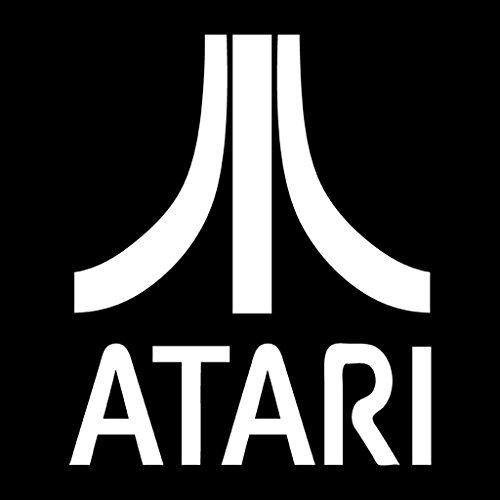 Cloud City 7 Atari Gaming Logo White Women's Vest Black