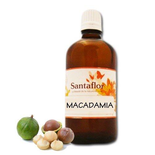 Santaflor - Huile végétale Macadamia BIO 50 ml Spray