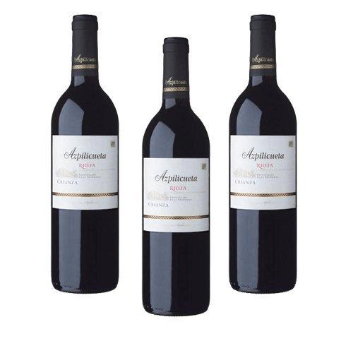 Azpilicueta Crianza - Vino Tinto - 3 Botellas