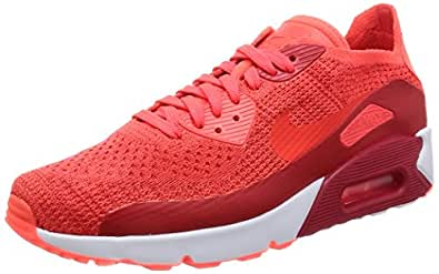 newest b93a8 6b05f ... promo code nike air max 90 ultra 20 flyknit 875943 600 875943600 color  cherry red size