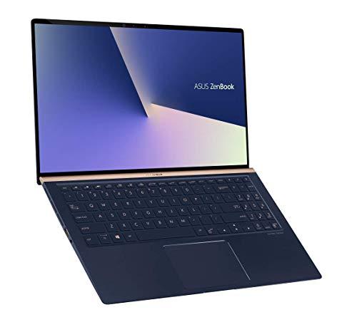 "Asus Zenbook UX533FD-A9030T Ultrabook 15"" Bleu (Intel Core i7, 16 Go de RAM, SSD 512 Go, Nvidia GTX 1050 2 Go, Windows 10) Clavier Azerty Français"