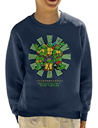b9988c36a6 Cloud City 7 Teenage Mutant Ninja Turtles Retro Japanese Kid's Sweatshirt