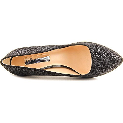 INC International Concepts Bindanaa Damen Spitz Synthetik Plateauschuh Black