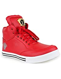 Appe Men's Red Synthetic casual shoes:APPE-0018RED-6
