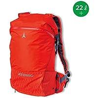 ATOMIC AL5043210 Mochila de esquí Touring para Hombre y Mujer, Backland 22+, Unisex Adulto, Rojo Claro, 22 litros+, 510 x 140 x 320 cm